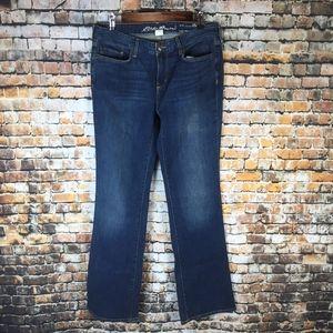 Eddie Bauer Slightly Curvy Bootcut Jeans
